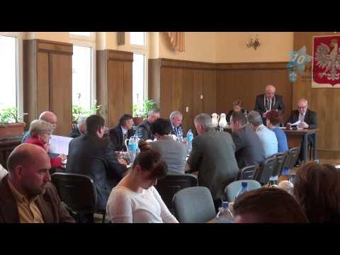 VI Sesja Rady Miejskiej w Kamieniu Krajeńskim, 26.03.2015 r.