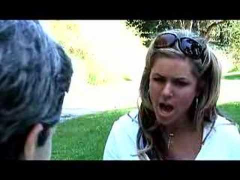 Ashley Moorehouse Interviews George Bush!