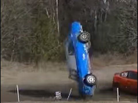 BiG Stock Car Racing / Folkrace Crash Compilation!