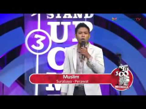 Uus Eliminasi ,Stand Up Comedy Indonesia Season 3   1st Show