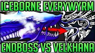 Endboss Everwyrms Identity - Velkhana VS New Snake Monster - Monster Hunter World Iceborne! (Theory)