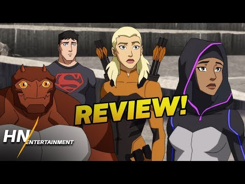 Young Justice Outsiders Episodes 7-9 REVIEW