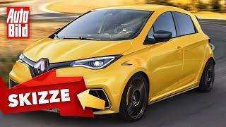 Renault Zoe RS (2022): Neuvorstellung - Skizze - Elektro - Infos by Auto Bild