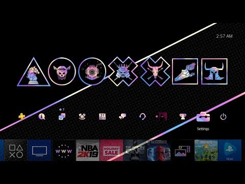 PlayStation 2019 Wrap Up Theme is 🔥🕹