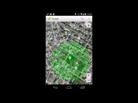 Video of !Forget - Location Reminder