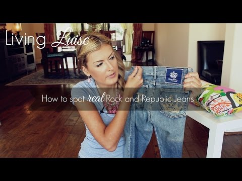 Authentic Rock & Republic Jeans | How to Spot Fakes