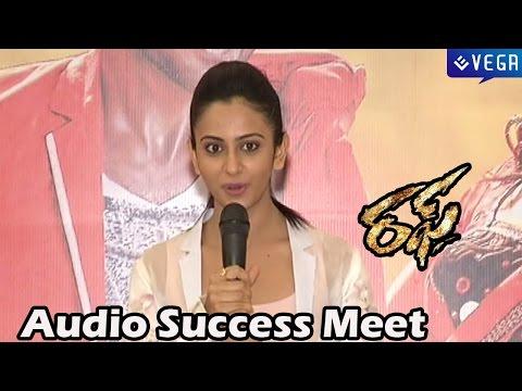 Rough Movie  Audio Success Meet - Aadi, Rakul Preet Singh - Latest Telugu Movie 2014