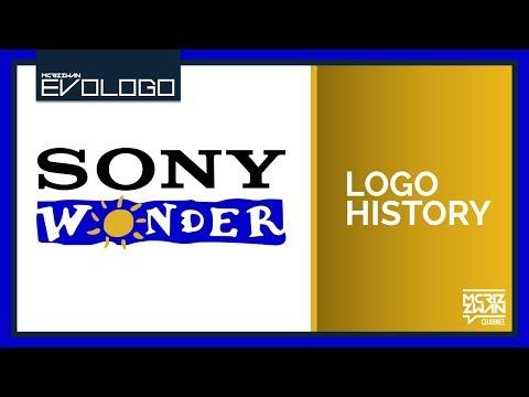 Sony Wonder Logo History   Evologo [Evolution of Logo]