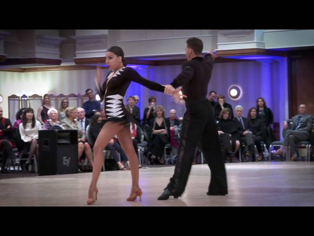 Troels Bager & Ina Jeliazkova Cha Cha -- 2016 Washington Open Dance Sport Competition 2016 Latin (International)