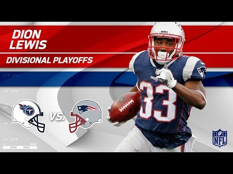Video: Dion Lewis' Huge Game w/ 141 Total Yards! | Titans vs. Patriots | Divisional Round Player HLs