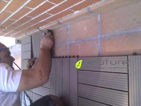 Loseta madera exterior videos videos relacionados con - Losetas madera exterior ...