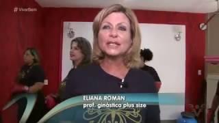 Ginastica Plus Size - Entrevista para o programa Viver Bem - TV Tribuna
