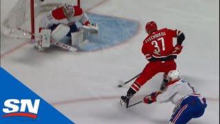 Hurricanes' Svechnikov burns Weber then goes backhand on Price by Sportsnet Canada