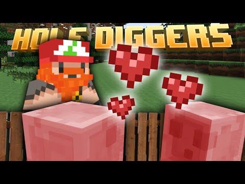 Minecraft – Breeding Pink Slimes – Hole Diggers 41
