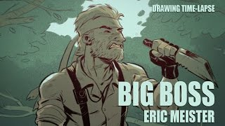 Big Boss - drawing time-lapse