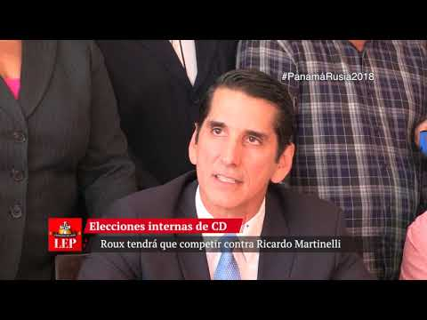 Rómulo Róux se postula para la presidencia de CD