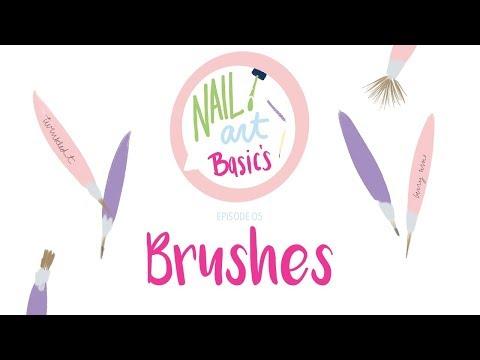 Nail Art Basics : Brushes Ep. 5   25 Sweetpeas