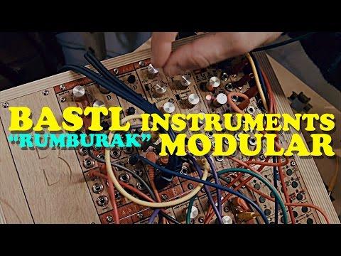 "BASTL instruments MODULAR ""Rumburak"" Demo at Messe 2015"