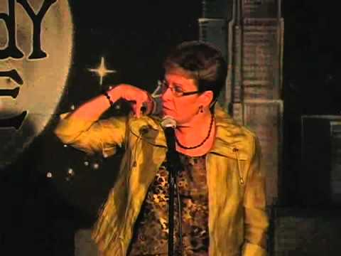 Stacie Oste on 7-30-12 at Graduation Night for The Comedy Zone Comedy School