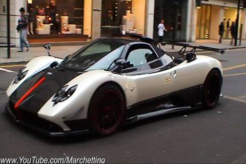 Cinque - I have filmed the #5 of 5 Pagani Zonda Cinque Roadster making some crazy things in the city of London. The video includes many action scenes of the car accel...
