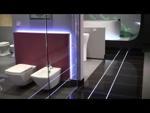 Oświetlenie LED w fugach, płytkach