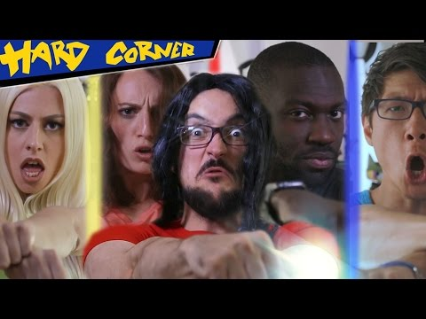 Les VRAIS Power Rangers -ft. Pat, Jessie Volt, Will, Ganesh & JDG - HARD CORNER - BenzaieTV