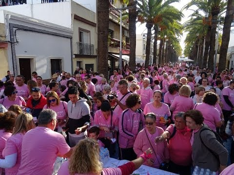 Isla Cristina se echa a la calle contra el cáncer