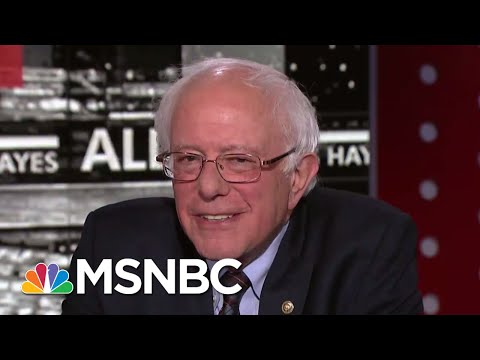 Senator Bernie Sanders: It's Time To Decriminalize Marijuana | All In | MSNBC