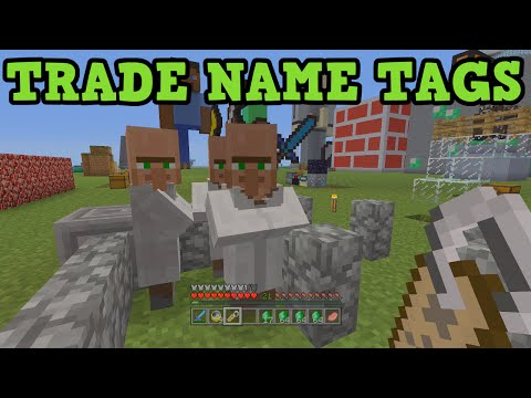 tags - This is a tutorial on how to get name tags in Minecraft Xbox 360 & Minecraft PS3 by trading with NPC villagers. - Previous Video(TU21 QnA): https://www.youtube.com/watch?v=X7d4owyMb5U - Learn...