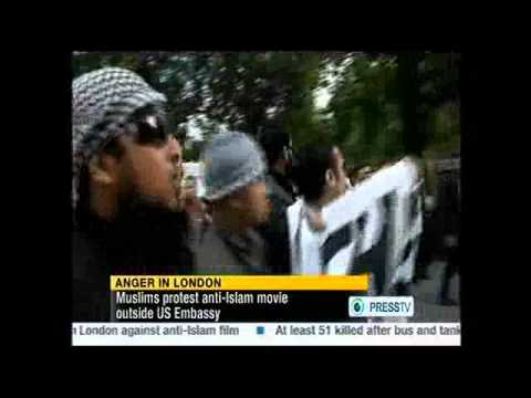 Protest Against American Film(Innocence of Muslims ) -  All over the world