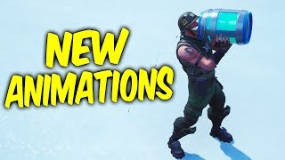 Fortnite New Animations.New Healing animations