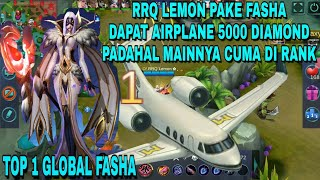 Download Video RRQ LEMON PAKE FASHA  DAPAT AIRPLANE 5000 DIAMOND MABAR RRQ & ZXUAN (LANCELOT) MP3 3GP MP4