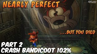 More Crash Bandicoot N. Sane trilogy and I am quickly realising that this game is not fair and is a lot harder than I remember it being. Still I manage to work my way through a good selection of levels nearly completing the second island in Crash Bandicoot 1!Please leave a rating and a comment on the video to let me know what you thought and share and subscribe if you enjoyed it! ▽ MORE ALEXARCS HERE ▽► SUBSCRIBE HERE -- http://bit.ly/1z36r4K► TWITTER -- http://bit.ly/1MM4KQr► FACEBOOK -- http://on.fb.me/1NTGZ9m► TUMBLR --  http://bit.ly/2mwxhlX