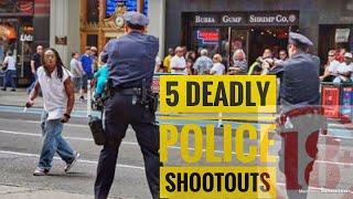 Video Top 5 Crazy Police Shootouts MP3, 3GP, MP4, WEBM, AVI, FLV Agustus 2019