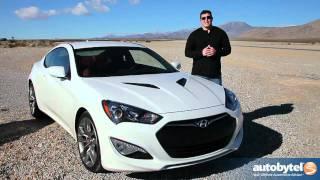 2013 Hyundai Genesis Coupe Test Drive&Car Review