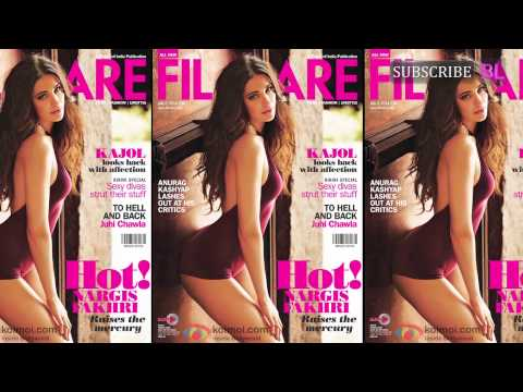 Nargis Fakhri hot on the Filmfare Cover