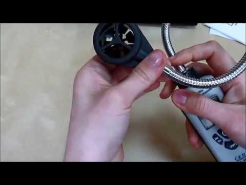 Видео Портативный анемометр с гибким зондом СЕМ DT-318