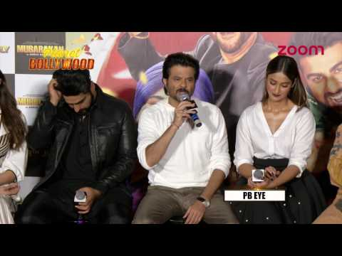 Anil Kapoor Gets Emotional At 'Mubarakan' Trailer