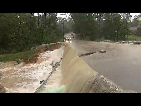 ΗΠΑ: Ο τραγικός απολογισμός από τον τυφώνα Μάθιου