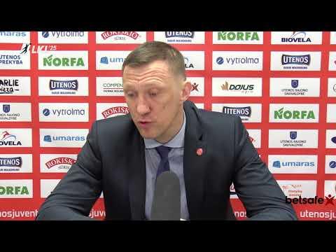 """""""Betsafe–LKL"""" rungtynių komentarai: """"Juventus"""" - """"Vytautas"""" [2018-04-19]"""