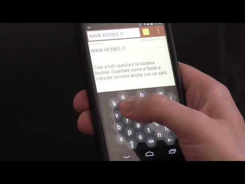 Video of Keybee, The Smart Keyboard
