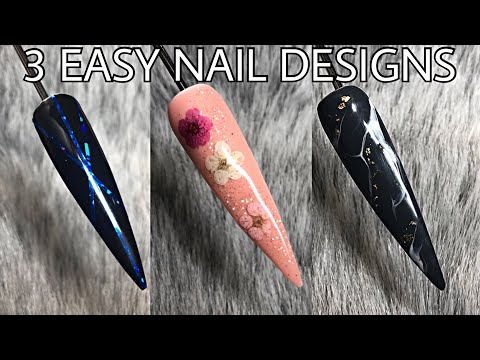 3 EASY NAIL DESIGNS  IsabelMayNails  Banggood Review