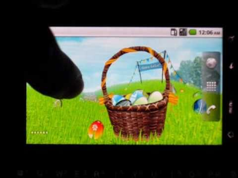 Video of Easter Meadows Live Wallpaper