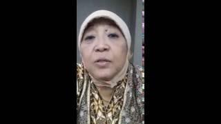 Pernyataan Ibu Lily Wahid, adik kandung Gusdur Tentang NUSRON wahid