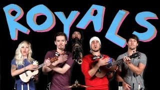 Creative and Amazing Music Video: Royals - Walk off the Earth