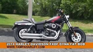 6. New 2014 Harley Davidson Fat Bob Motorcycles for sale - Elfers, FL
