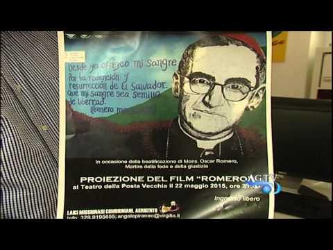 Al teatro posta vecchia di agrigento la proiezione del film Romero