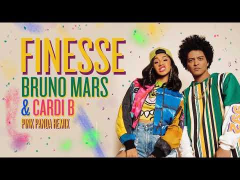 Bruno Mars - Finesse (Pink Panda Remix) [feat. Cardi B]