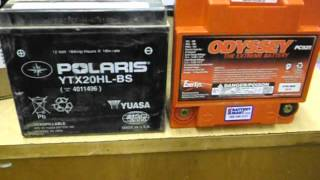 9. Odyssey PC925L battery upgrade for Polaris RZR  Part 1