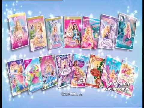 Barbie Coleção de DVDs 2010 - Trailer BR DUBLADO (HD)